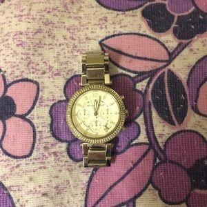 Micheal Kors Parker Watch Silver